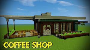 Minecraft Shop Designs Minecraft Modern Shop Tutorial