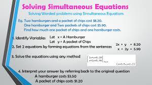 39 solving simultaneous