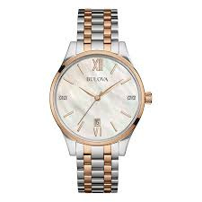 bulova diamond gallery mens watch 98s150