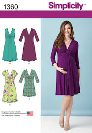 Simplicity Maternity Patterns