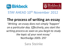 essay on writing process the process of writing an essay writing an essay does not simply