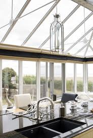Kitchen Conservatory Conservatory Kitchen Enjoying Norfolk Sea Views Ordered From Our