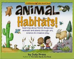 habitats williamson little hands series judy press betsy day 9780824967567 amazon books