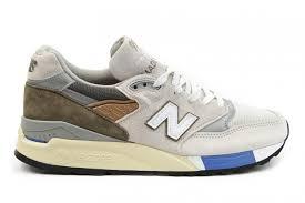 new balance hommes. new balance m998nt2 x concepts c-note beige, olive primaire, blanc gris bleu hommes