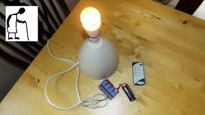 How To Make Remote Control Light Switch Infrared Remote Control Light Switch