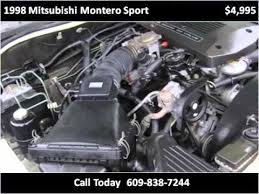 1998 mitsubishi montero sport available from evolution motor