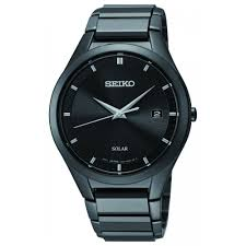 buy seiko men s solar powered watch sne247p1 at j herron son seiko men s solar powered watch sne247p1