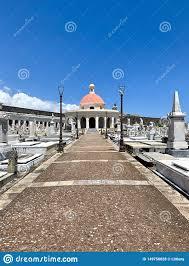 Old San Juan Puerto Rico Cemetery Stock Photo - Image of juan, graves:  149750828