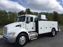 2018 kenworth t370. 2018 kenworth t370 boom bucket crane trucks h