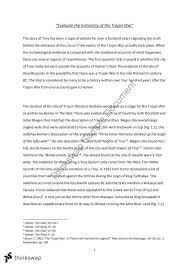 "evaluate the historicity of the trojan war"" essay year hsc  ""evaluate the historicity of the trojan war"" essay"