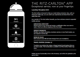Ritz Carlton Rewards Chart The Ritz Carlton App Becomes The Travel Accessory You Cant