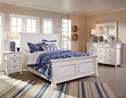 white king bedroom sets. Stoney Creek 6 Pc Cal King Bedroom Set (White) White Sets G