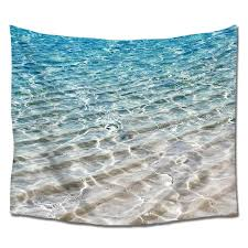 beach clear sea sand ocean wall art tapestry hangings polyester fabric for home bedroom living room on wall art tapestry hangings with beach clear sea sand ocean wall art tapestry hangings polyester