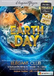 Earth Day V10 Flyer Psd Template Facebook Cover Free