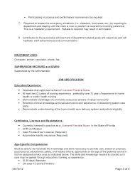 Home Health Care Job Description For Resume Health Care Coordinator Sample Resume Podarki Co