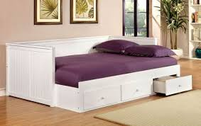 full size daybed with storage. Interesting Size Wolford White Full Size Storage Daybed Intended With 1StopBedrooms