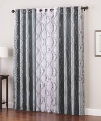 use two diffe colored panels to add dimension to your windows annaslinens curtains
