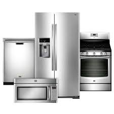 Kitchen Appliances BLACKS1 From Stainless Steel Appliance Package