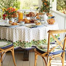 tablecloths outdoor tablecloths round outdoor vinyl tablecloth blue line color with beatiful motive food drink