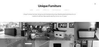 Unique Furniture Website Has A Great Web Design Best Web Designs Inspiration Furniture Website Design