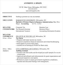 Accounting Student Resume Custom 28 Accounting Resume Templates Free Samples Examples Format