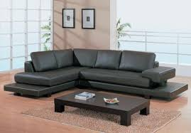 Modern leather couch Genuine Leather Image Of Best Contemporary Leather Sofa Best Leather Contemporary Sofa All Contemporary Design