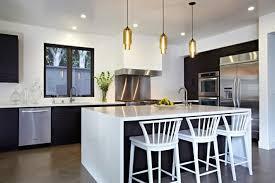 Kücheninsel Beleuchtung Schwarz Weiss Moebel Stahl Akzente