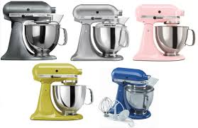 kitchenaid stand mixer tilt 5 quart ksm150ps artisan silver or pearl metallic 1 of 1 see more