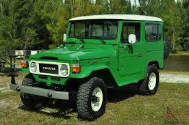 1983 Toyota Fj 40 Land Cruiser Collector car
