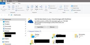 Windows 10 Explorer Windows 10 Is Bringing Shitty Ads To File Explorer Heres How To