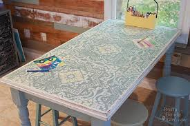 dining table makeover - after - pretty handy girl