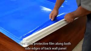 bath wall install lyons industries