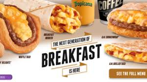 taco bell breakfast 2014. Beautiful Bell Taco Bell Launches Breakfast Menu With Breakfast 2014 S