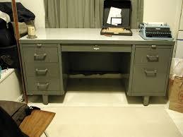 vintage metal desks desk ideas with 7