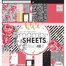 Rosy S Party Designers Amazon Com Me My Big Ideas Mambi Rosy Paper Pad 12x12