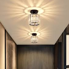 corridor lamp balcony crystal modern