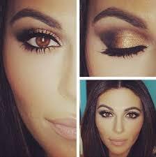 eye makeup for big brown eyes photo 1