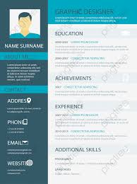 Business Resume Templates Vector Png Resume Resume Template Png