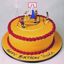 birthday cakes for boys basketball. Basketball Cake Designs Intended Birthday Cakes For Boys