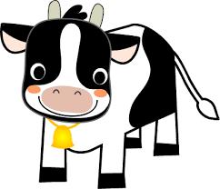 うし・牛のイラスト(無料イラスト)フリー素材