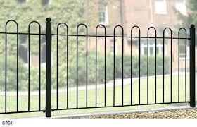 wrought iron garden borders decorative garden edging 16 inch black wrought