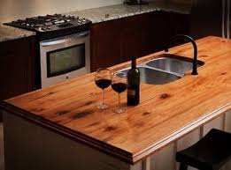 kitchen countertops made of wood 15