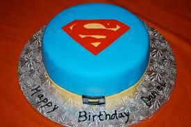 Superman Fondant Cake Design Superman Cakes Decoration Ideas Little Birthday Cakes