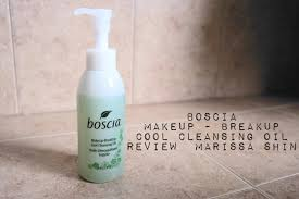 boscia makeup breakup cool cleansing oil review marissa shin you