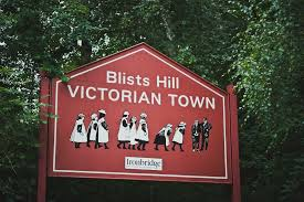 Image result for blists hill museum sign