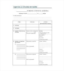 Sample Office Staff Meeting Teacher Agenda Template Destinscroises
