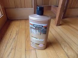 about minwax hardwood floor cleaner