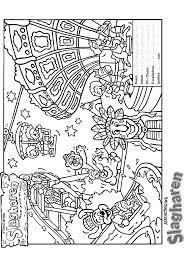 Kleurplaat Slagharen Slagharen Attractie Vakantiepark Kleurplatenlcom