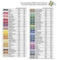 Iris Floss Color Chart Cross Stitch Thread Online Charts Collection