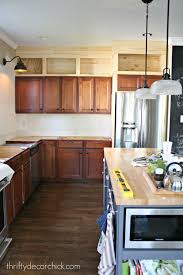 Kitchen Cabinets To Ceiling building cabinets up to the ceiling from thrifty decor chick 1231 by xevi.us